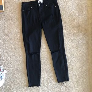 Paige black denim